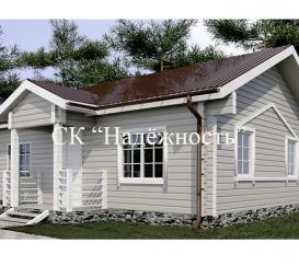 Дома из бруса (камерной сушки)
